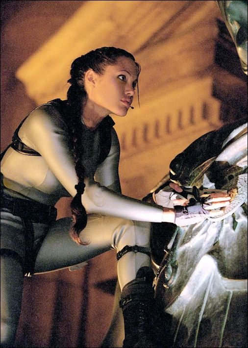 Angelina Jolie as Lara Croft in Tomb Raider - The Cradle Of Life - 2003