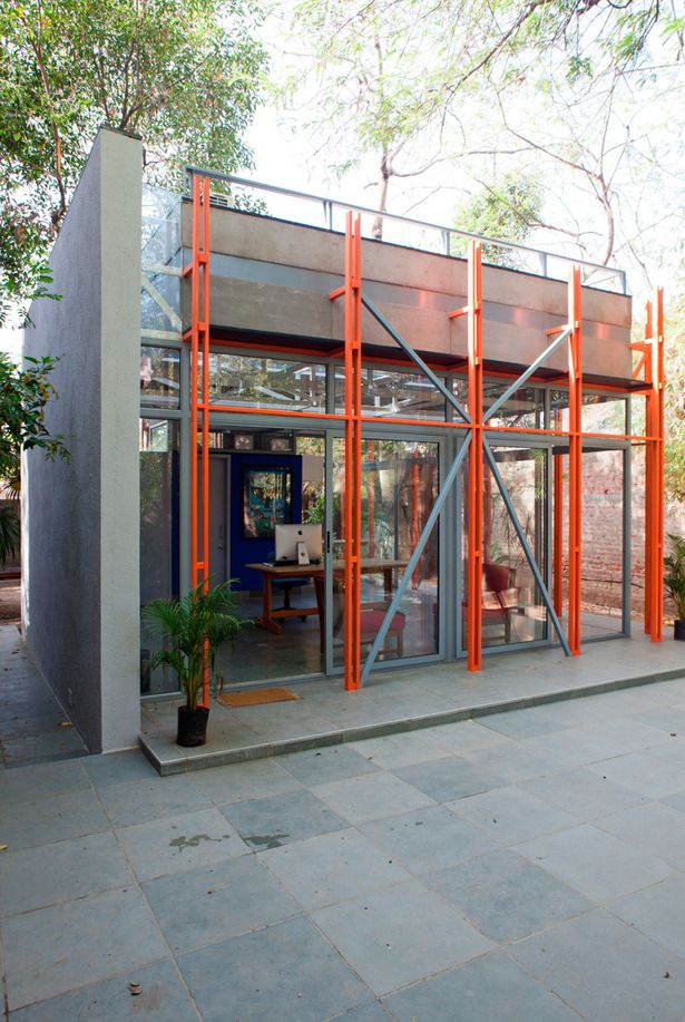 Pavilion of Incremental Form | Anthill Design; Photo: Deepshikha Jain | Archinect