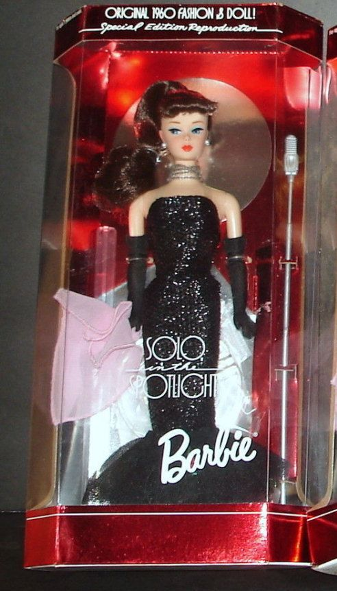 Solo in the Spotlight Barbie 1960 Fashion Special Edition Reproduction Microphone Rare Stand 1995 by NikkoChikko on Etsy