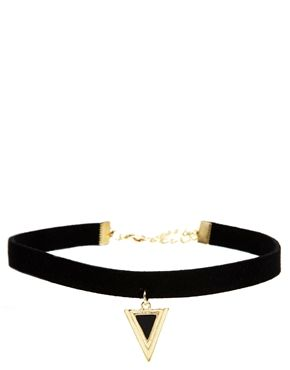 Asos choker (for more chokers -- http://chicityfashion.com/choker-necklace/)
