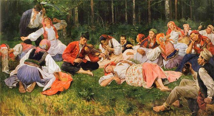 Wincenty Wodzinowski - 1893  Grajek.jpg 800×435 pixels