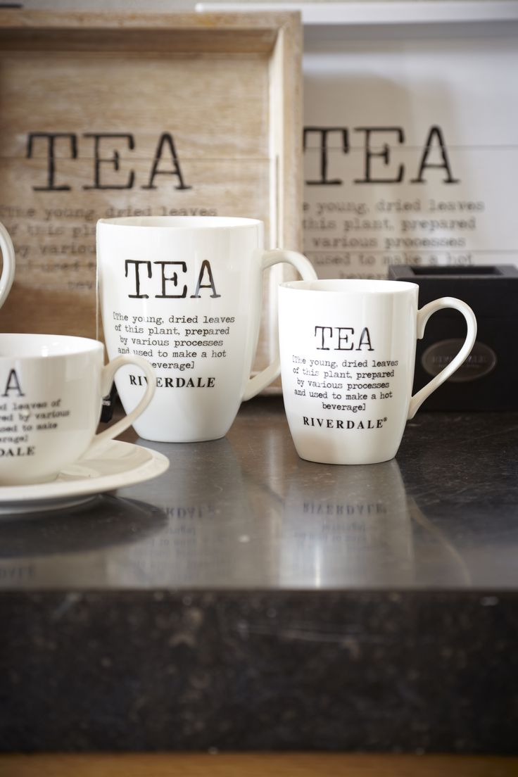 BAG IT: / Morning Tea Time Mugs