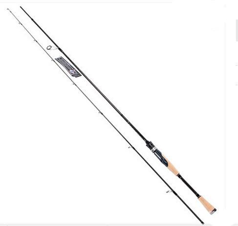 109.27$  Watch now - http://alik07.worldwells.pw/go.php?t=32755436432 - Trulinoya 1.95M 2 Sections Casting Fishing Rod L Power Carbon Rod with FUJI Ring Elite ELC 652L Canas de pesca 109.27$
