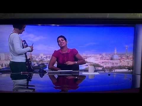 HUMAN BEHAVIOR STUDY FOR ACTORS - BBC Breakfast newsreader Naga Munchetty caught live prepping for work.  - YouTube