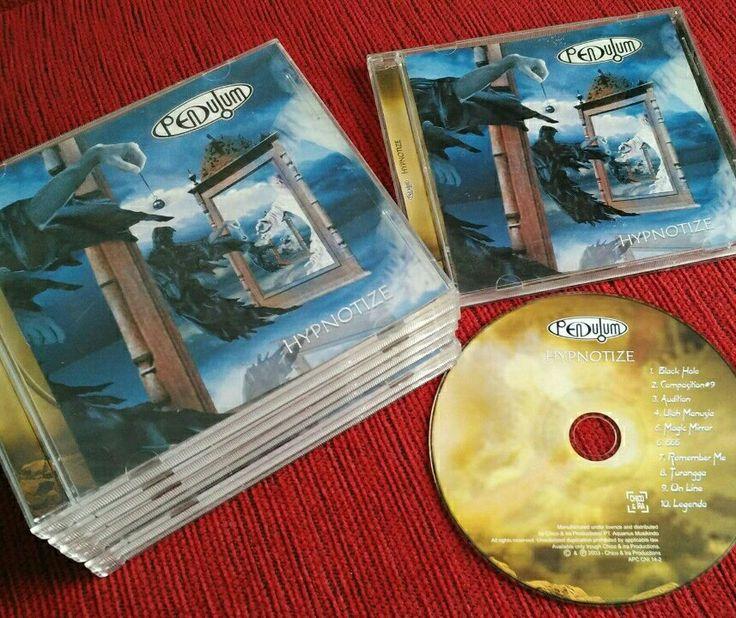 Indonesian progressive rock band 'Pendulum' Hypnotize album
