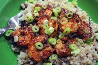 Spicy Shrimp and Couscous | Tasty Kitchen: A Happy Recipe Community!Virtual Essence, Shrimp Couscous, Recipe Community, Spicy Shrimp, Yummy Food, Recipe Seafood, Couscous Shrimp, Tasty Kitchens, Happy Recipe
