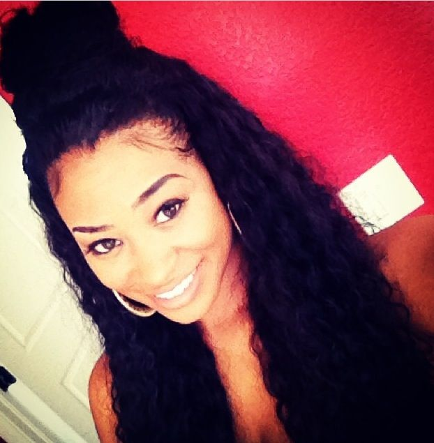Flip Over Method Sew in Curly Hair