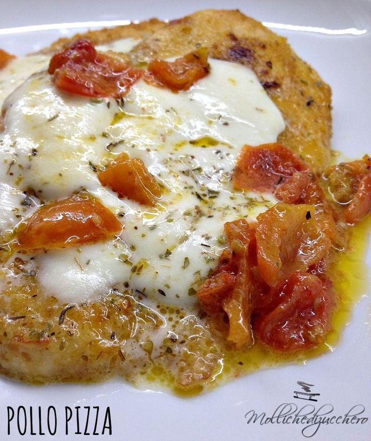 Il pollo pizza è un secondo piatto gustosissimo, veloce e pratico da fare.
