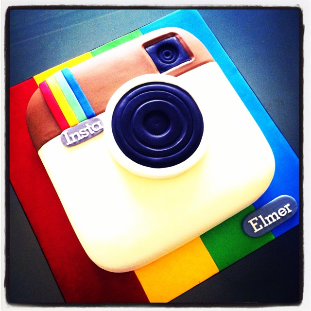 Cake Designs Instagram : 42 best images about Instagram party on Pinterest ...