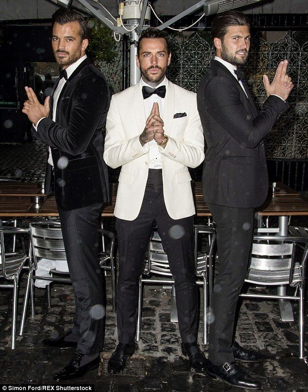 Licence to kill: Michael Hassini, Peter Wicks and Dan Edgar did their best…