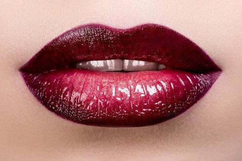 Wine Red Lipstick