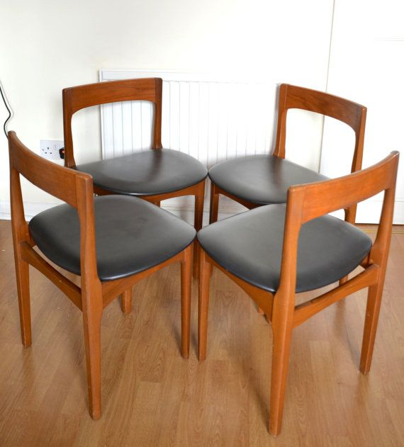 Stylish Set of 4 vintage Nathan teak chairs. Delivery by Modernico & The 66 best chair love images on Pinterest | Armchairs Chair and Chairs