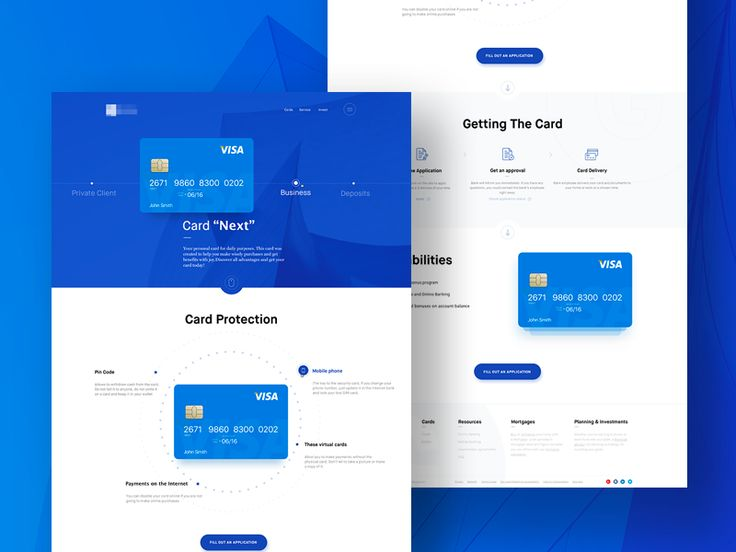 selection of various web design projects by ramotion - Web Design Project Ideas