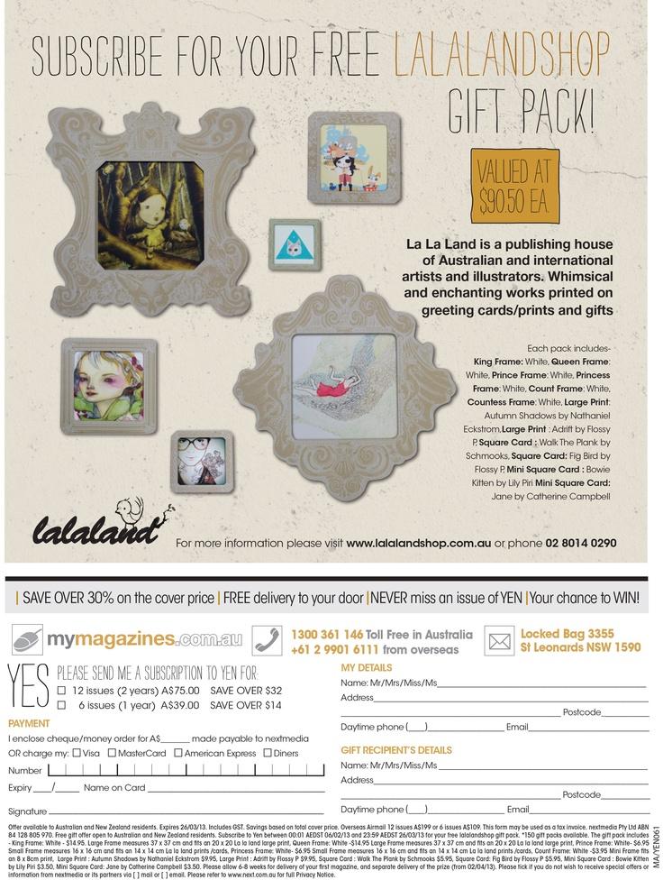 La La Land in #Yenmagazine issue 61