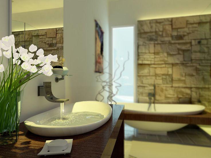 25 best ideas about zen bathroom design on pinterest for Zen bathroom ideas pinterest