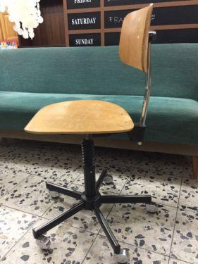 Fürs Arbeitszimmer?  Werkstatt, Drehstuhl, Stuhl, Bürostuhl - Drabert - Vintage - 70s in Köln - Ehrenfeld | Büromöbel gebraucht kaufen | eBay Kleinanzeigen
