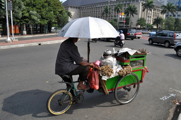 Street Vendor, Jakarta, Indonesia.