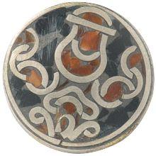 tibetain kalasha - Deze waterkan –kalasha– is van grote waarde in Oosterse culturen en veelvuldig terug te vinden in de Tibetaanse kunst. Hij staat voor waarheid en geluk.