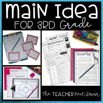 Main Idea   Main Idea Activities – Jenna Beckham