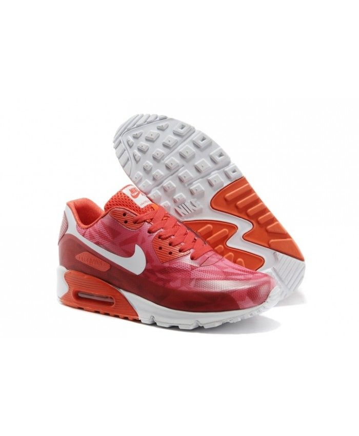 Nike Air Max 90 Hyperfuse Prm 25 Anniversary Ice Wine Red Cheap UK