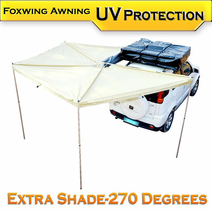 New Car 4WD 4X4 Side Awning Roof Top Tent Wrap Around Waterproof Camping Outdoor