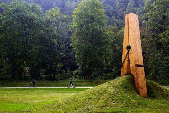 Peg sculpture