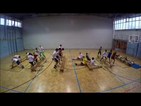 Krafttraining mit Bänken Teil 1- Sportunterricht - YouTube