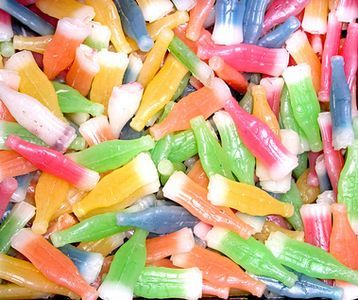 List Of 80S Candy | Wax soda bottles were an 80s-style candy.