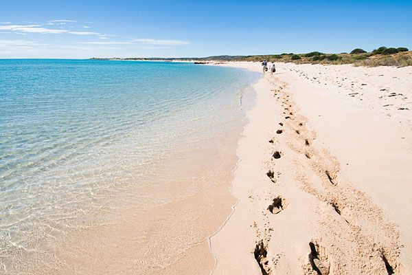 Beach in Cape Ranges National Park, near Exmouth,