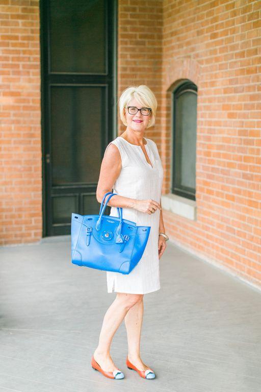 Томми Багама Белое платье с Рикки сумка // По пути Берлинского Блог