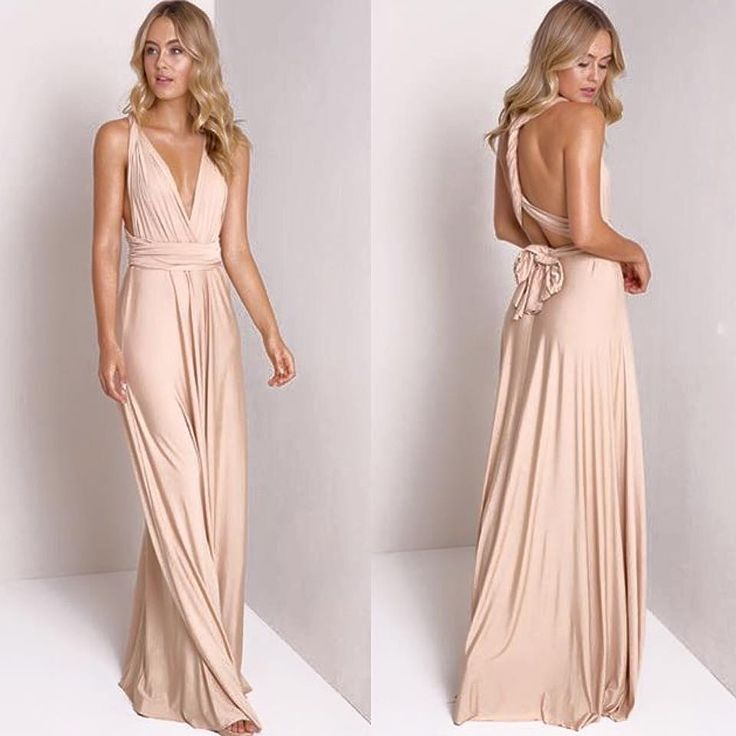 the perfect bridesmaids dress?! this rich champagne color is perfection