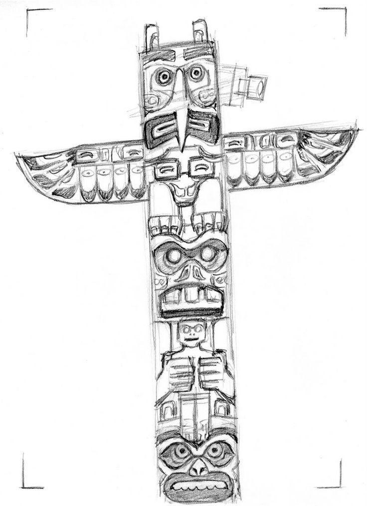 44 best Totem poles images on Pinterest | Native american ...