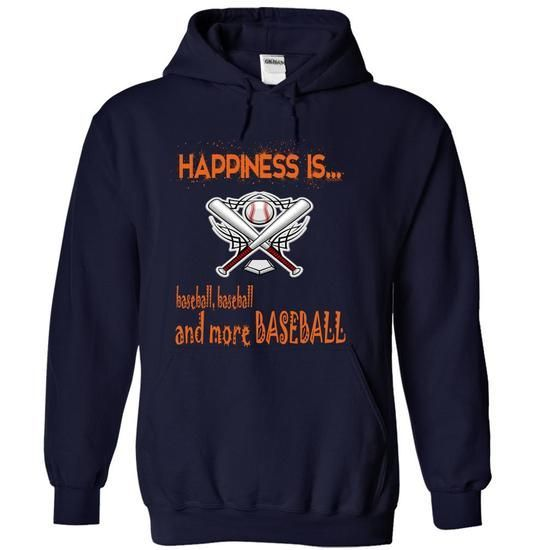 Limited Edition Happiness is baseball, baseball and mor - #raglan tee #hoodie quotes. LOWEST PRICE => https://www.sunfrog.com/No-Category/Limited-Edition-Happiness-is-baseball-baseball-and-more-baseball-NavyBlue-19741587-Hoodie.html?68278