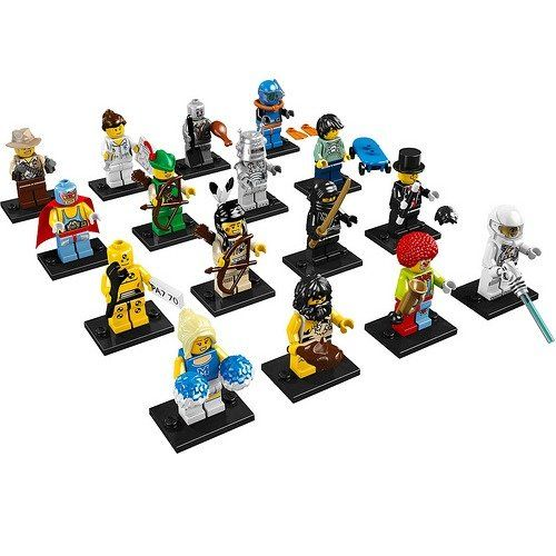 LEGO Minifigures Collection. Cool #kids toys and collectible LEGO minifigs