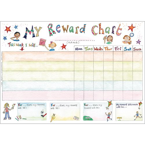 Rewards Chart for Kids RBS45 Great Xmas gift - Buy Online $12