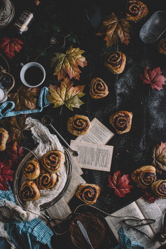Chocolate & Cold Brew Coffee Croissants with chocolate espresso butter | TermiNatetor Kitchen