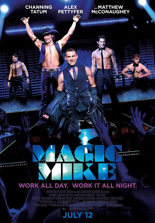 Pin for Later: 16 Gifts For the Channing Tatum Superfan  Magic Mike Movie Poster ($10)