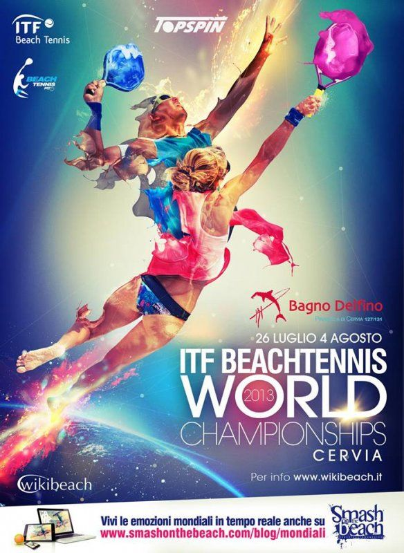 Mondiali 2013: Programma, Informazioni e Iscrizioni   Beach Tennis Mania Ai mondiali con i campioni del beach tennis e Beach Tennis Mania, tutto il materiale dei tuoi idoli lo trovi su Sportlet.it