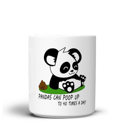 Funny Panda Fact MUG (*Partner Link)