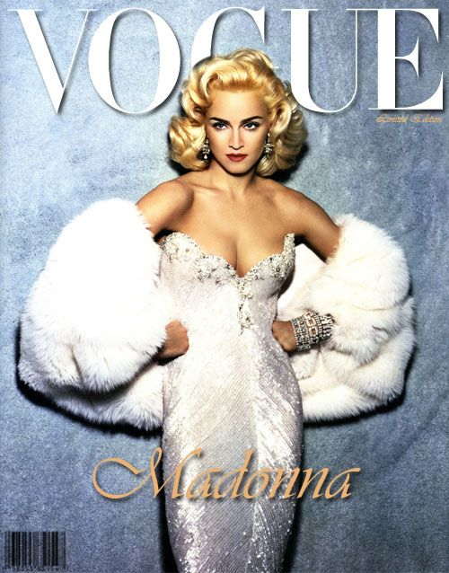 Shortly after the Louis Vuitton ad campaign pics were revealed, we received a new portion of glossy Madonna images.