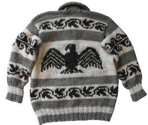 Authentic Custom Created Cowichan Sweaters