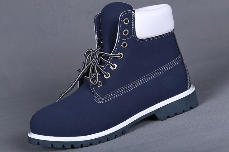 TIMBERLAND STUSSY MEN'S 6 INCH ZIP BLUE WHITE,Fashion Winter Timberland Women Boots,navy blue timberlands