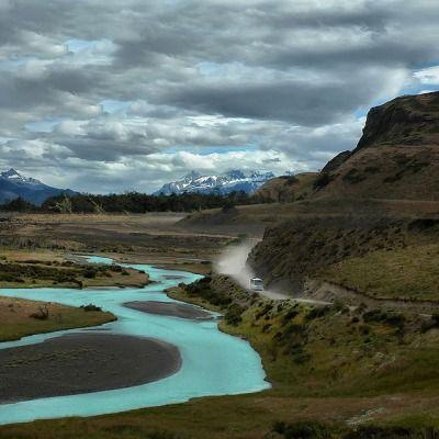 Il Fiume Azzurro | Rio Paine, Chile © Tati@