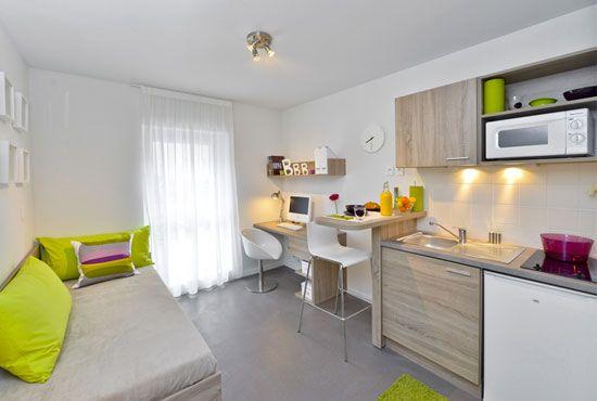 Studio de 18 m² à louer dans une résidence étudiante - Résidence étudiante - Immojeune.com