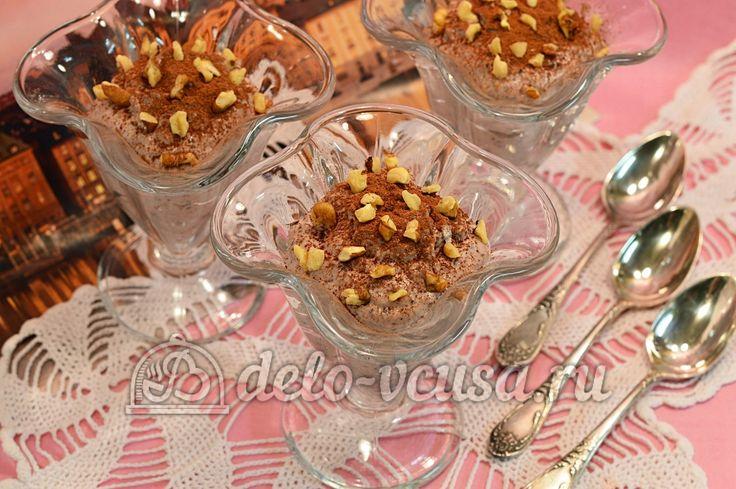 Творог с овсянкой, орехами и изюмом #творог #овсянка #орехи #изюм #десерты #рецепты #деловкуса #готовимсделовкуса