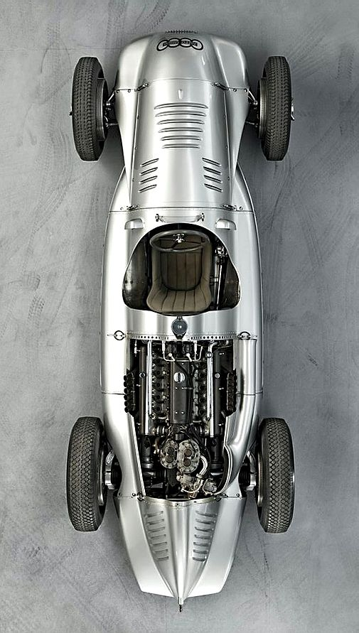 1938 Auto Union Type D   Grand Prix Racing Car   3.0L V12 478hp   Top Speed 340 kph 211 mph Auto Union Grand Prix Racing Car   1933 - 1939   The race cars were developed and built by the r Racing Department of Auto Union's Horch Works in Zwickau,...