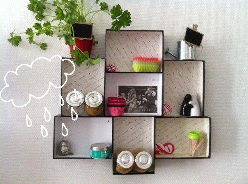 Easy Diy Honeycomb Shelves