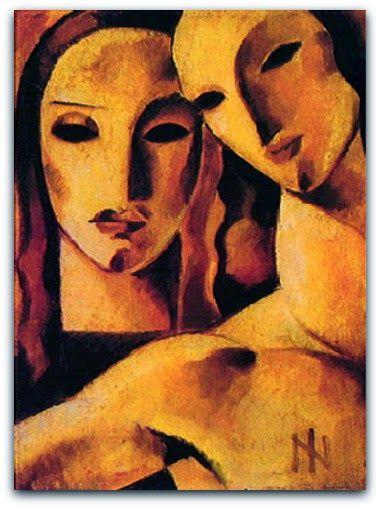 Composição com Figuras 1926 - Ismael Nery Coleção Domingos Giobbi http://sergiozeiger.tumblr.com/post/99567187118/ismael-nery-belem-do-para-9-de-outubro-de-1900