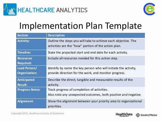 Business Implementation Plan Template In 2020 How To Plan