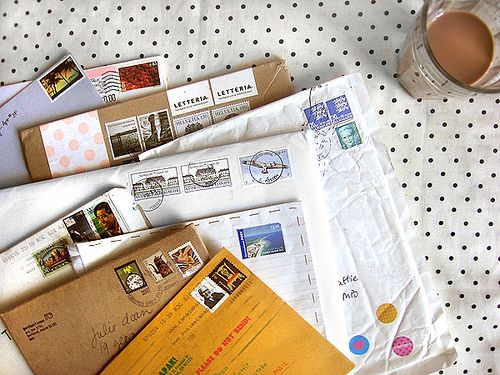 People need to get back to writing real letters - it just means so much more!
